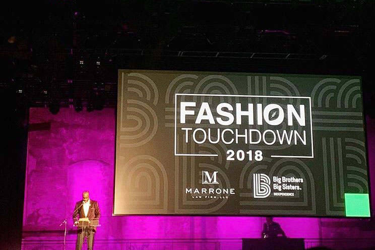 Philadelphia Eagles Players Walk the Runway for a Charitable Cause